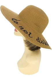 Nadya's Closet Do-Not-Disturb Floppy Hat - Front cropped