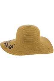 Nadya's Closet Do-Not-Disturb Floppy Hat - Back cropped