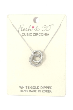 Nadya's Closet Double Circle Linked Necklace - Alternate List Image