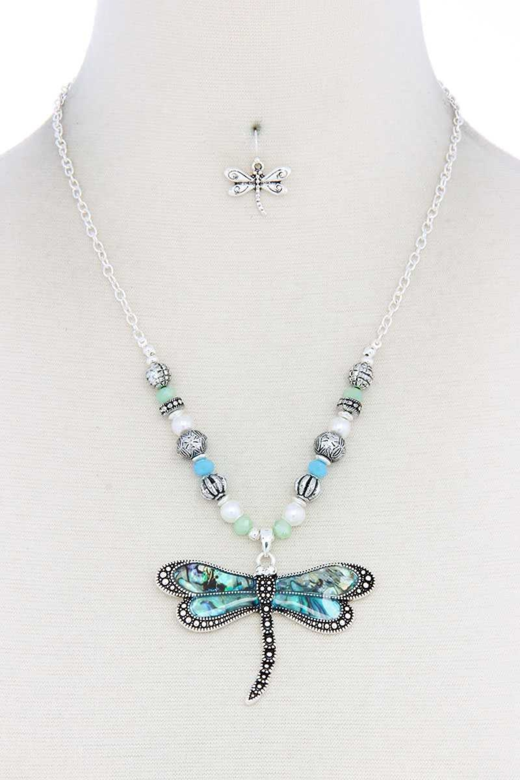 Nadya's Closet Dragonfly Fashion Necklace - Main Image