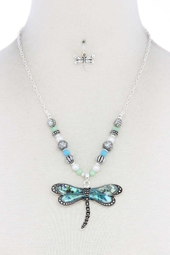 Nadya's Closet Dragonfly Fashion Necklace - Alternate List Image
