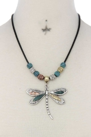 Nadya's Closet Dragonfly Pendant Necklace - Front cropped
