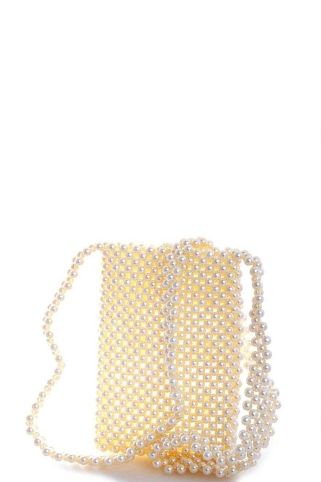 Nadya's Closet Endless Pearl Cross Body Pouch - Front Full Image