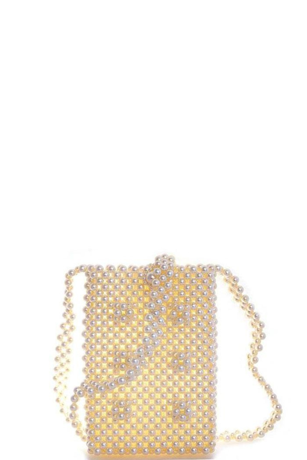 Nadya's Closet Endless Pearl Cross Body Pouch - Back Cropped Image