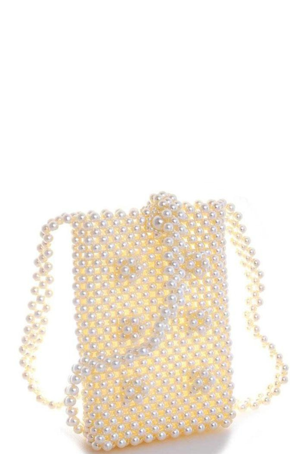 Nadya's Closet Endless Pearl Cross Body Pouch - Main Image
