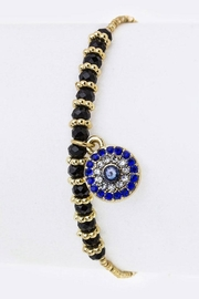 Nadya's Closet Evil Eye Drawstring-Bracelet. - Product Mini Image