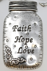 Nadya's Closet Faith-Love-Hope Necklace - Front cropped