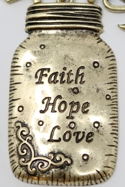 Nadya's Closet Faith-Love-Hope Necklace - Other