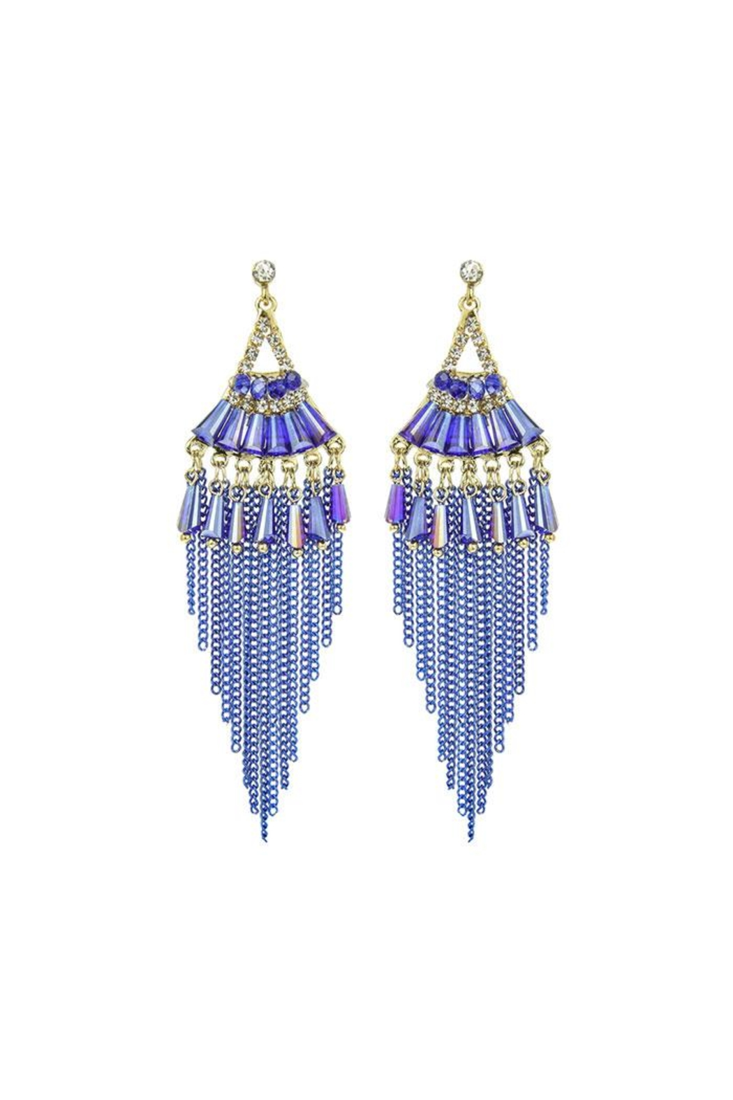 Nadya's Closet Fashion Bead Earrings - Front Cropped Image