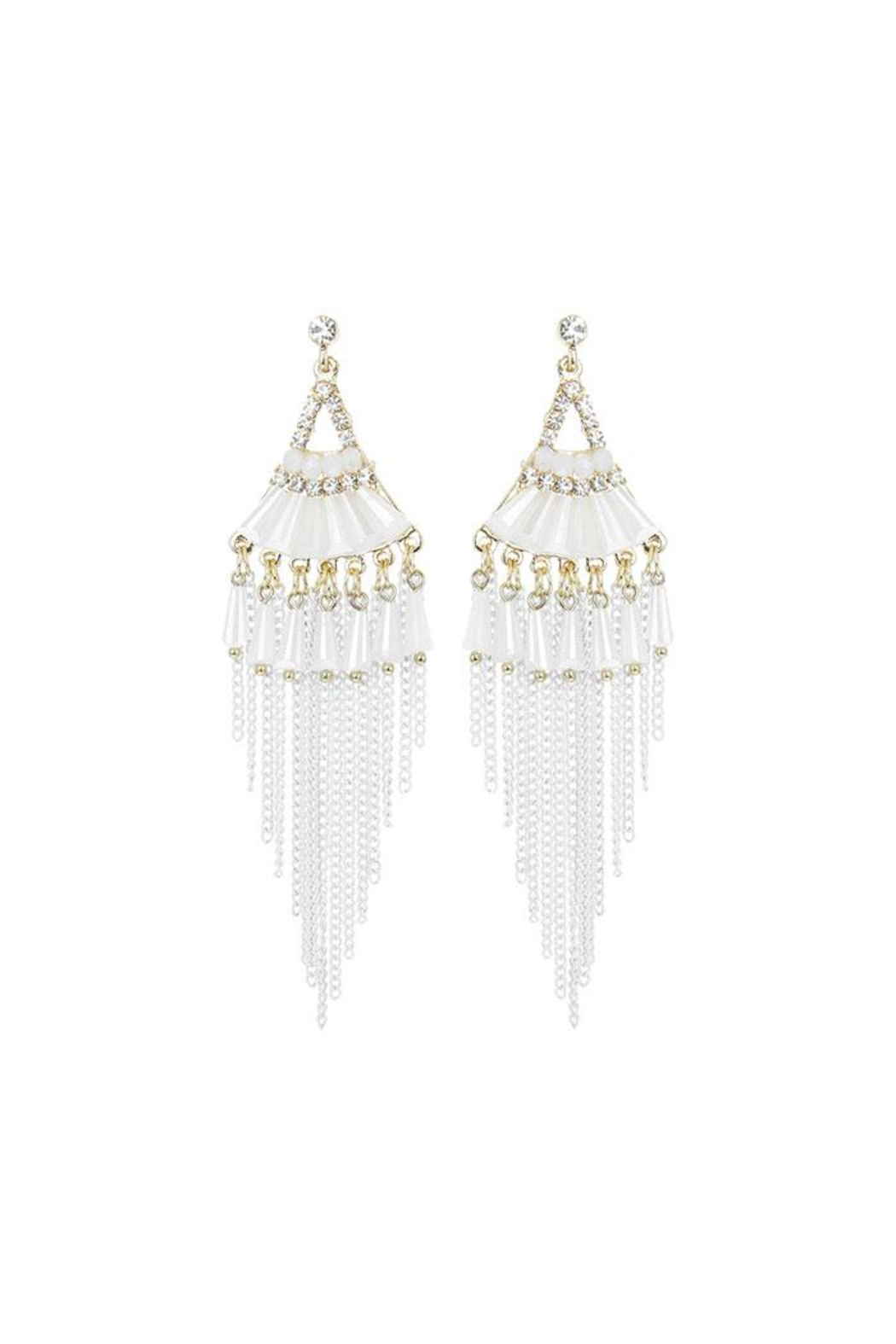Nadya's Closet Fashion Bead Earrings - Main Image