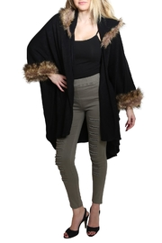 Nadya's Closet Faux Fur Hoodie - Front cropped