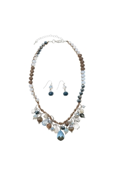 Shoptiques Product: Fringe Beads Necklace Set