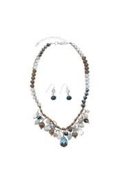 Nadya's Closet Fringe Beads Necklace Set - Product Mini Image