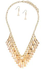 Nadya's Closet Fringe Necklace Set - Product Mini Image