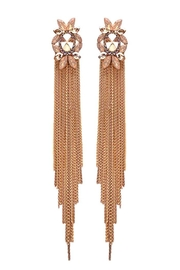 Nadya's Closet Gem Stone Post Earring - Front cropped