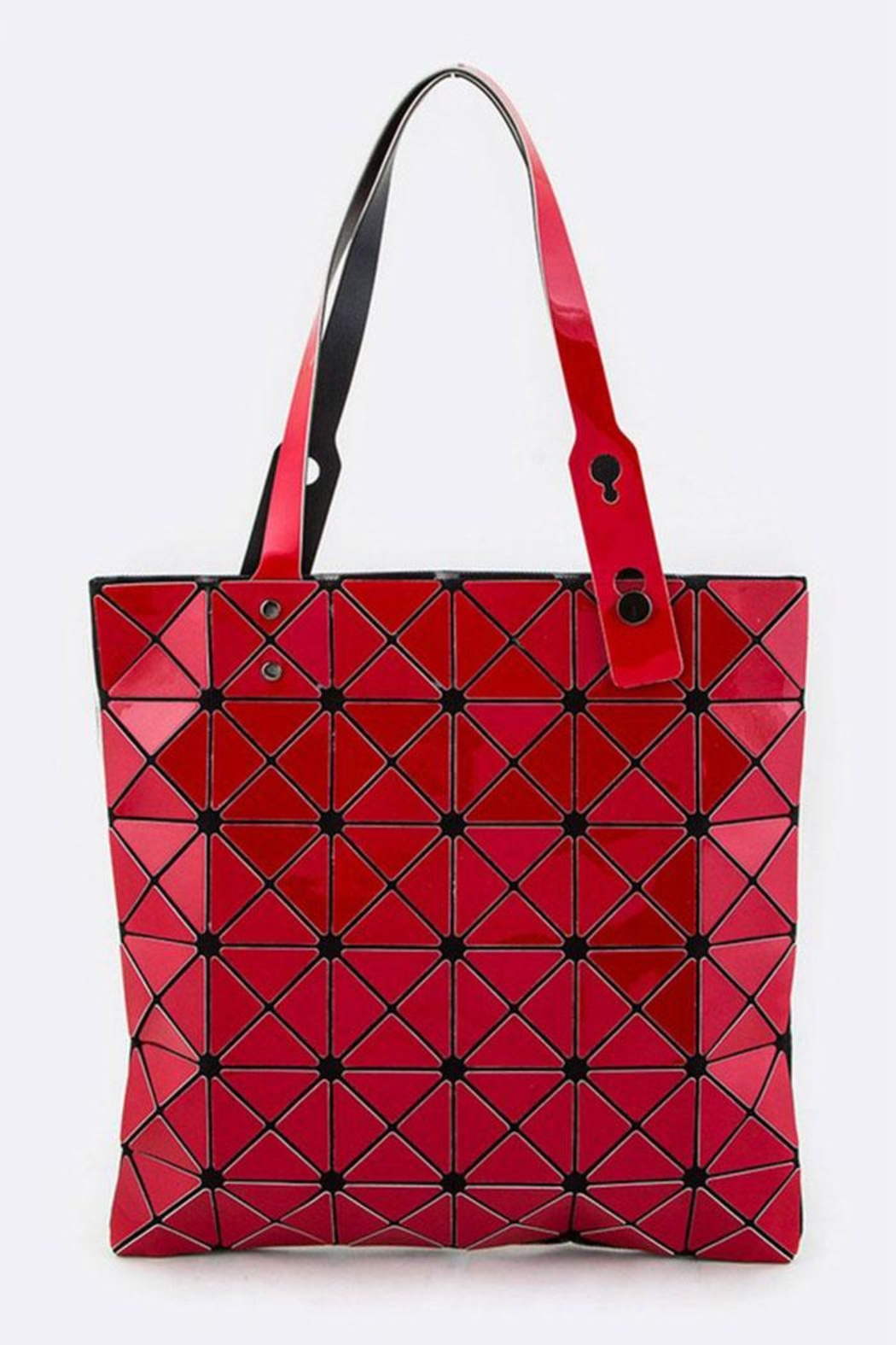 Nadya's Closet Geometric Structure Tote - Front Cropped Image