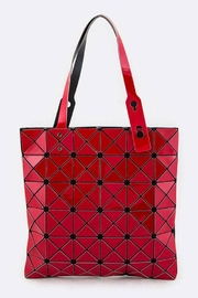 Nadya's Closet Geometric Structure Tote - Front cropped
