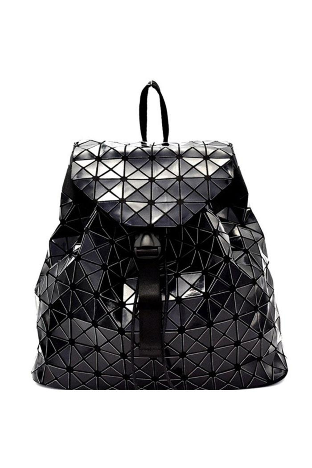 Nadya's Closet Geometry Patchwork Backpack - Main Image