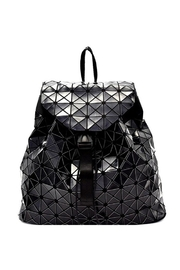 Nadya's Closet Geometry Patchwork Backpack - Front cropped