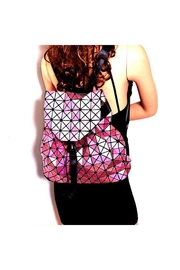 Nadya's Closet Geometry Patchwork Backpack - Other