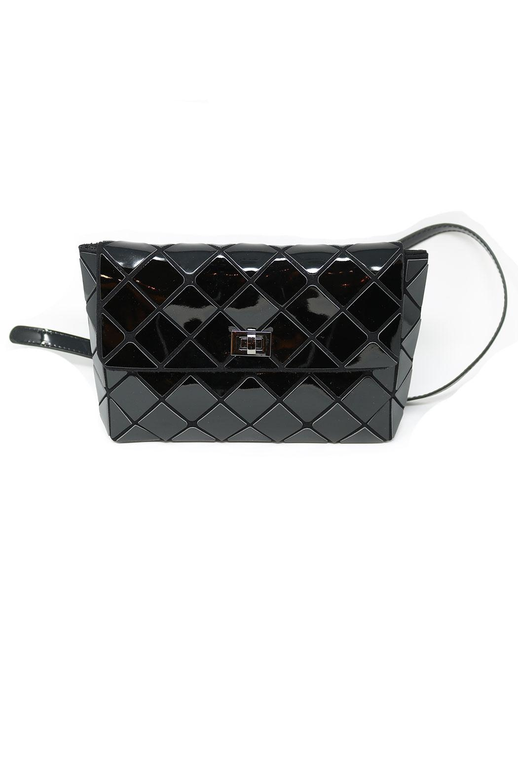 Nadya's Closet Geometry Patchwork Bag - Front Cropped Image