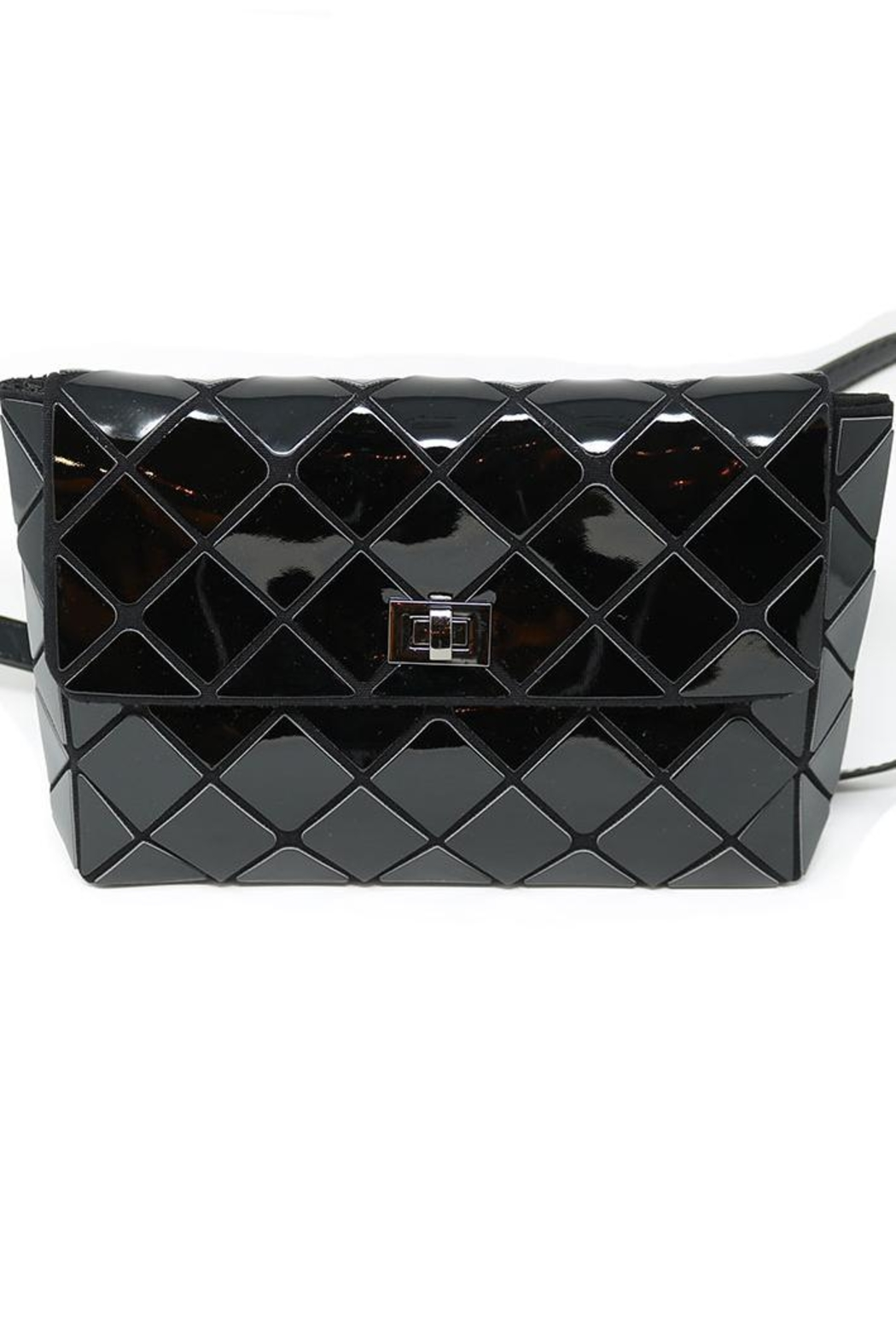 Nadya's Closet Geometry Patchwork Bag - Side Cropped Image