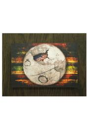 Nadya's Closet Globe  Wall Art - Product Mini Image