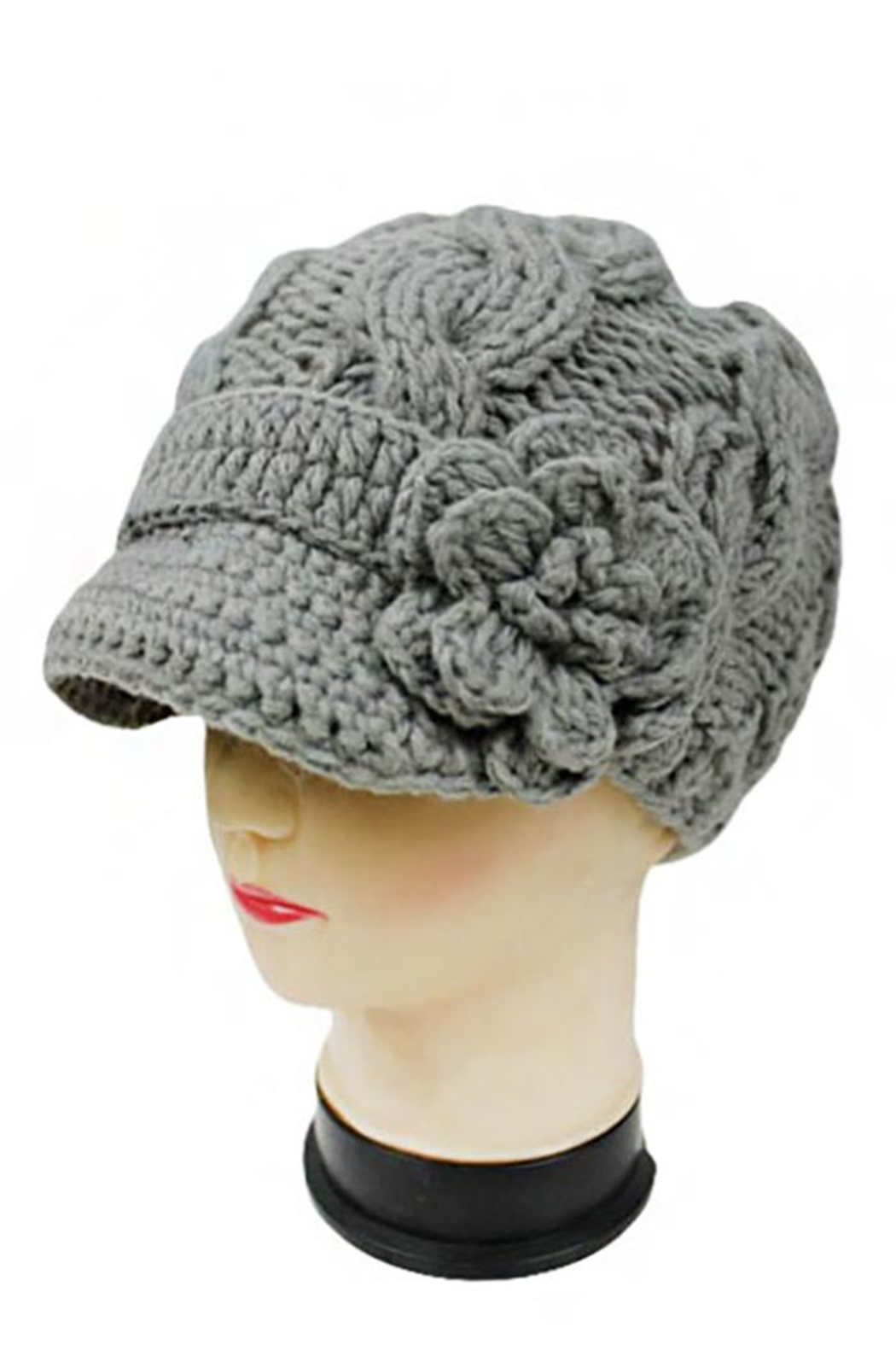 Nadya's Closet Hand Made Beanie - Front Cropped Image