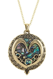 Nadya's Closet Heart Magnifying-Glass Necklace - Product Mini Image