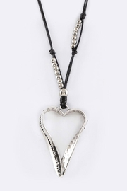 Nadya's Closet Heart Pendant Necklace-Set - Front cropped