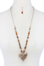 Nadya's Closet Heart Shape Necklace Set - Product Mini Image