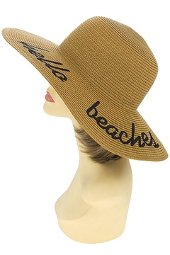 Shoptiques Product: Hello Beaches Floppy-Hat