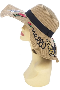 Shoptiques Product: Hello Summer Floppy-Hat