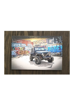 Shoptiques Product: Jeep Wrangler Wall Art