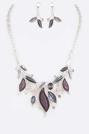 Nadya's Closet Jeweled Crystal Necklace Set - Front cropped