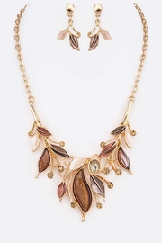 Nadya's Closet Jeweled Crystal Necklace Set - Product Mini Image