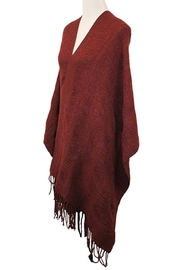 Nadya's Closet Large Convertible Fringe-Scarf - Product Mini Image