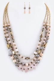 Nadya's Closet Layered Beads Necklace-Set - Product Mini Image