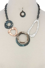 Nadya's Closet Metal Pendant Necklace-Set - Product Mini Image