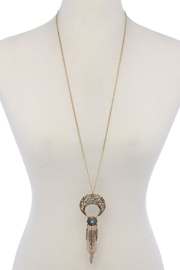 Nadya's Closet Metal Pendant Necklace - Product Mini Image