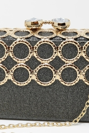 Nadya's Closet Metal Ring-Accent Clutch - Other