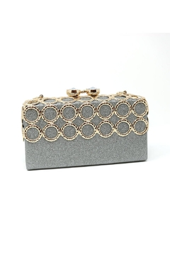 Shoptiques Product: Metal Ring-Accent Clutch