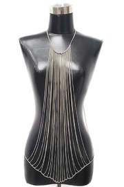 Nadya's Closet Metallic Body Chain - Product Mini Image