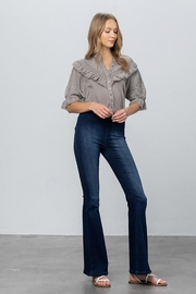 Nadya's Closet Mid Rise Banded Wider Flare Jeans - Other
