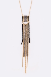 Nadya's Closet Mix Beads Necklace - Front cropped