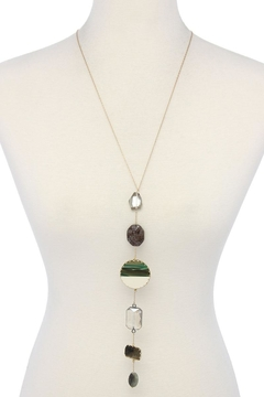Nadya's Closet Multi Shape Stand Necklace - Alternate List Image