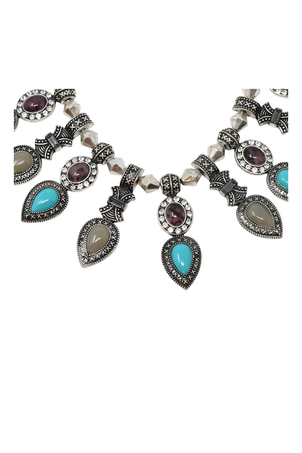 Nadya's Closet Multicolor Necklace Set - Front Full Image