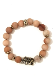 Nadya's Closet Natural Stone Elephant-Bracelet - Product Mini Image