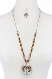 Nadya's Closet Oak Tree Necklace - Front cropped