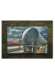 Nadya's Closet Oil Train Art - Product Mini Image